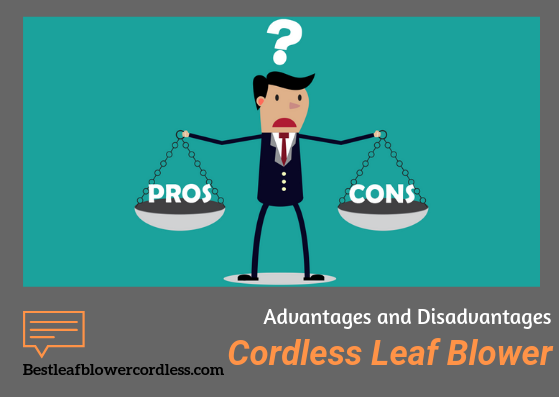 Advantages and Disadvantages of Cordless Leaf Blower