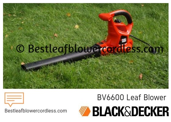 Black-Decker BV6600 Leaf Blower Review
