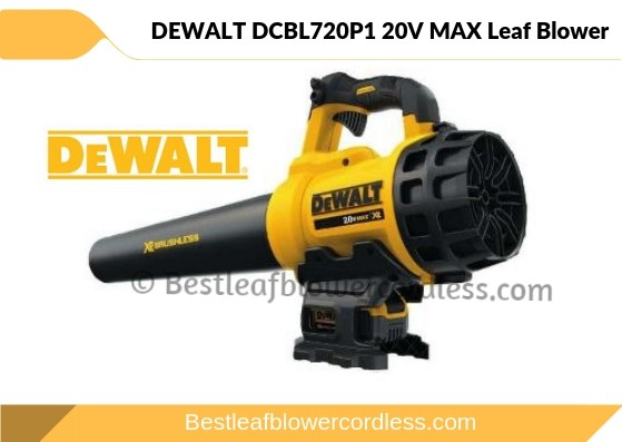 DEWALT DCBL720P1 20V MAX Leaf Blower Reviews