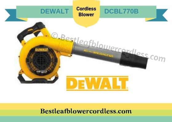 DEWALT DCBL770B Cordless Blower Reviews