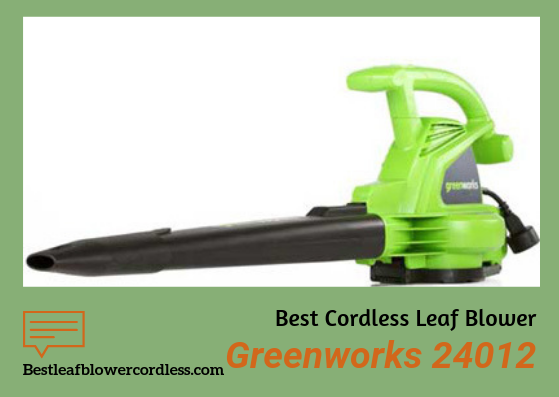 Greenworks 24012 Leaf Blower Review
