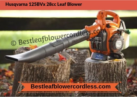Husqvarna 125BVx 28cc Leaf Blower Review