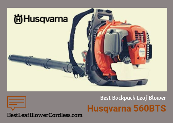Husqvarna-560bts Leaf Blower Review