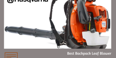 Husqvarna 580BTS Backpack Leaf Blower Review