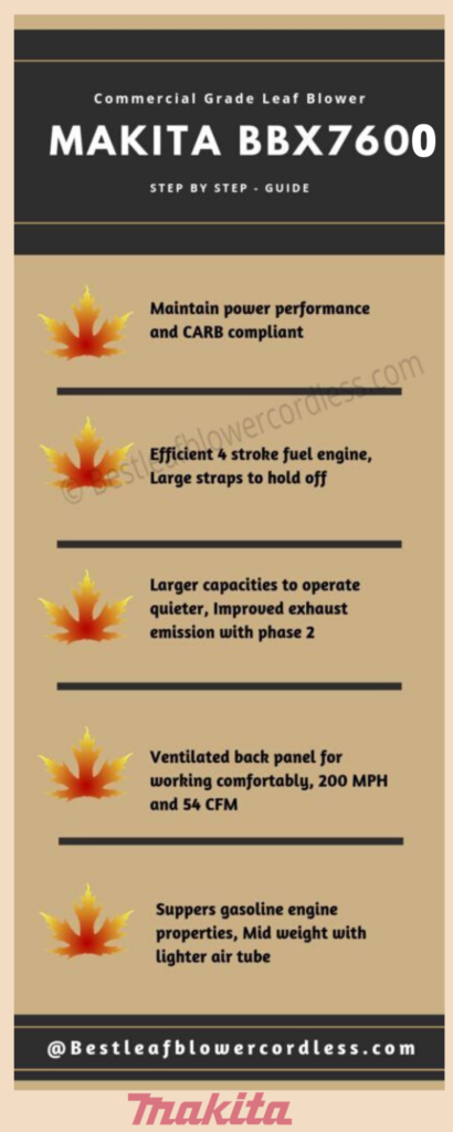 Makita BBX7600 195mph Commercial Grade Leaf Blower Reviews