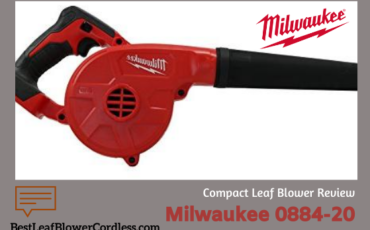 Milwaukee 0884-20 Compact Leaf Blower Review