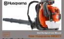 New Husqvarna 580BTS Backpack Leaf Blower Review