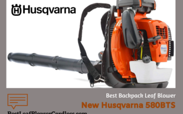 New Husqvarna 580BTS Backpack Leaf Blower Review