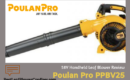 Poulan Pro PPBV25 2-Cycle Blower Review