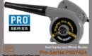 Pro-Series PS07424 Electric Leaf Blower Review