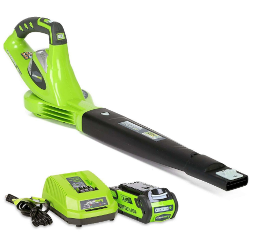 greenworks 40v 150 mph leaf blower review