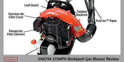 Echo PB-580T Backpack Blower Reviews