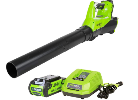 Greenworks BA40L210 Leaf Blower Review
