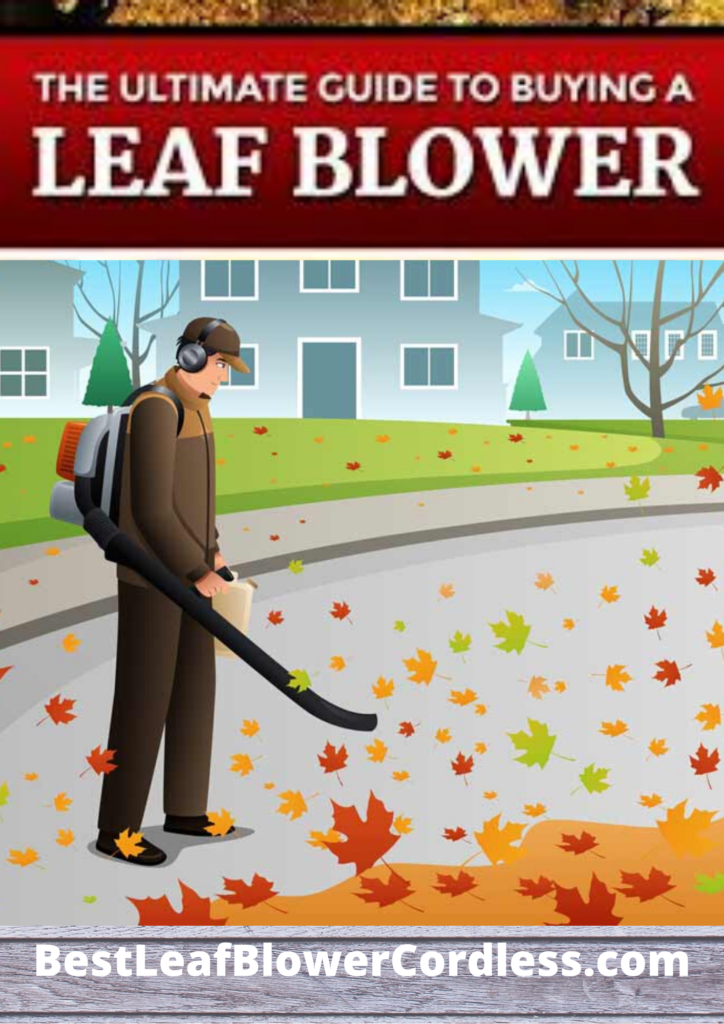 The Ultimate Leaf Blower Buying Guide