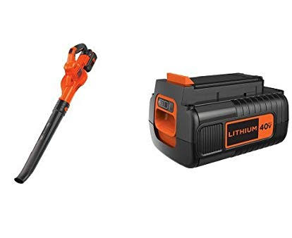 Black and Decker Leaf Blower LSW40C Review