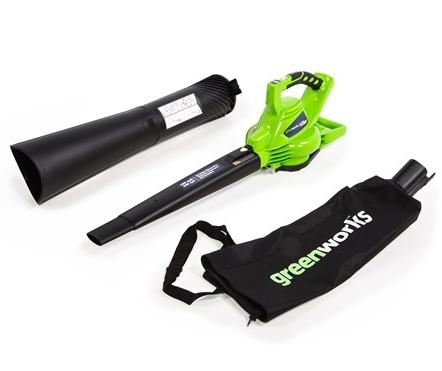 GREENWORKS 40V Battery Blower Review