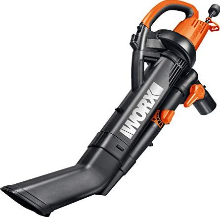 WORX WG505 TRIVAC Leaf Blower Review