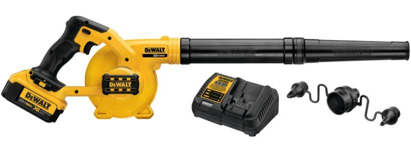 Dewalt DCE100M1 Compact Jobsite Leaf Blower Review