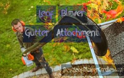 Leaf Blower Gutter Attachment Review