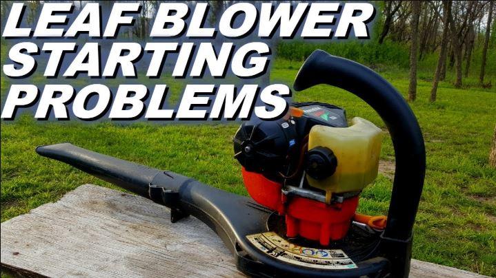 Leaf Blower Staring Problems