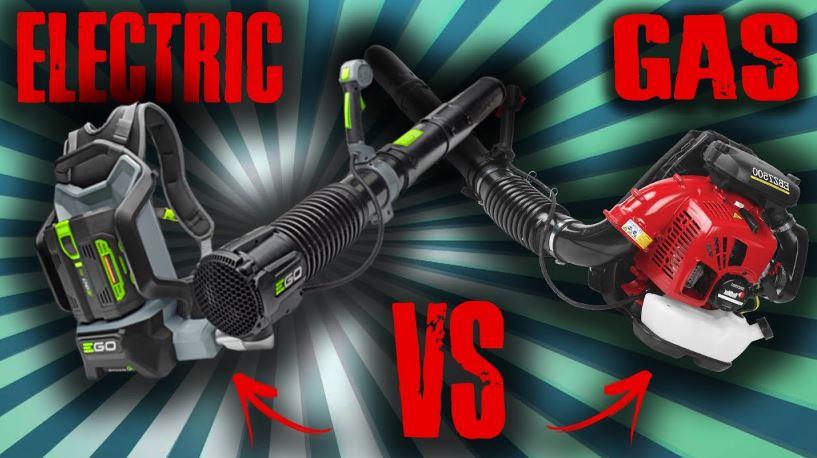 Electric Leaf Blower vs Gas Leaf Blower
