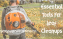 Essential Tools For Leaf Cleanups Job