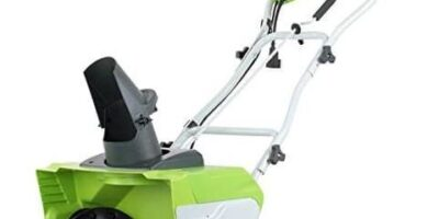 Greenworks 26032 20-Inch Electric Snow Thrower Review
