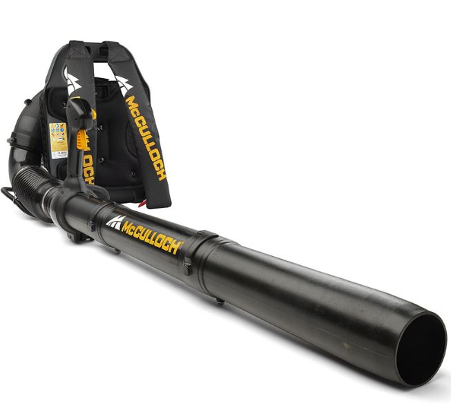 McCulloch GB 355 BP Backpack Leaf Blower Review