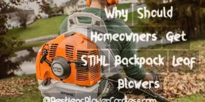Why Should Homeowners Get STIHL Backpack Leaf Blowers