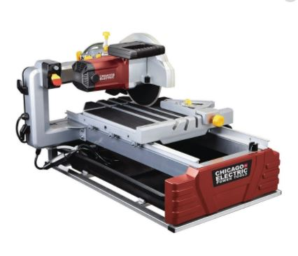 Chicago Electric 2.5HP Tile Saw Review