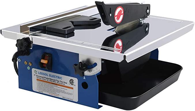 Leegol Electric 7-Inch Wet Tile Saw Reviews