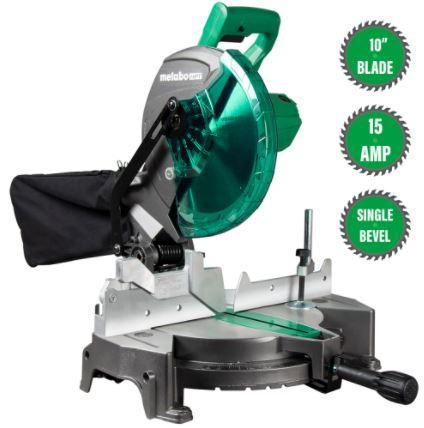 Metabo HTP C10FCGS 10″ Compound Miter Saw Review
