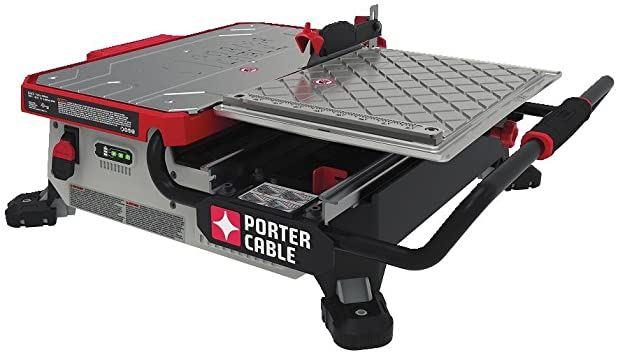 Porter Cable PCC780LA Wet Tile Saw Reviews