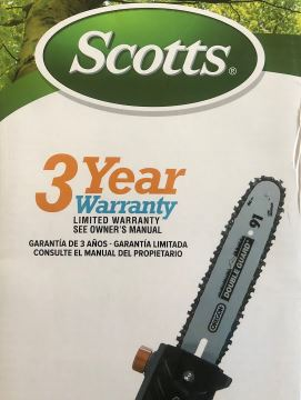 Scotts PS45010S Corded Electric Pole Saw Reviews