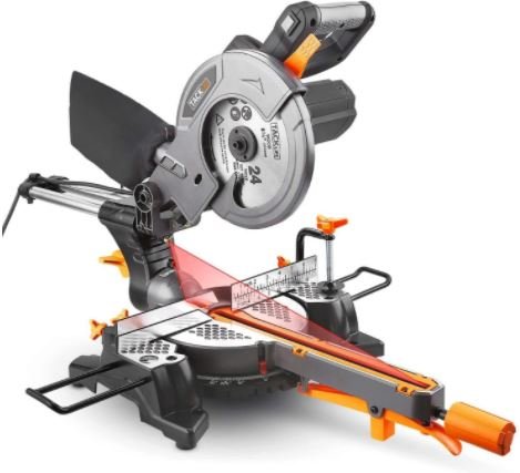 TACKLIFE 12″ Sliding Compound Miter Saw Review