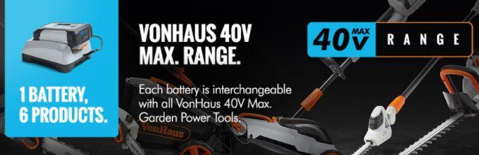 VonHaus 40V Max 8″ Cordless Pole Saw Reviews