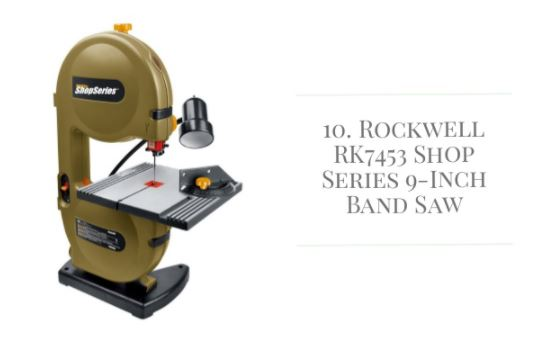 "ShopSeries RK7453 9"" Band Saw Reviews"